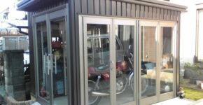 川越市T邸 オリジナルバイクガレージ