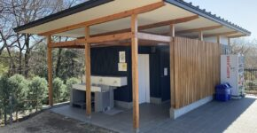 東松山ぼたん園様 トイレ塗装工事